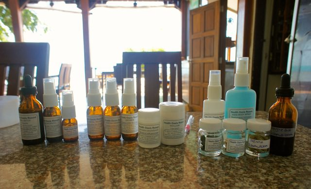 All of the herbs and sprays