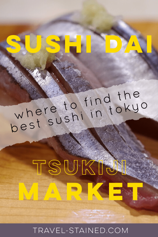 Japan is the best place for sushi, and the best place in Tsukiji Market to have it is Sushi Dai. Find out what you can do to get a seat as quickly as possible.