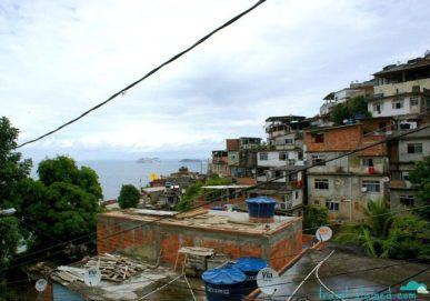 Inside the favela