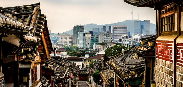 """Bukchon Hanok Village,"" by Doug Sun Beams, CC Attribution"