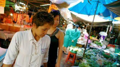 At a Thai market