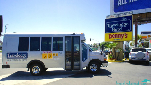 Free shuttle from LAX