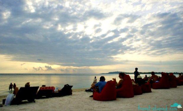 Beanbags on the Beach