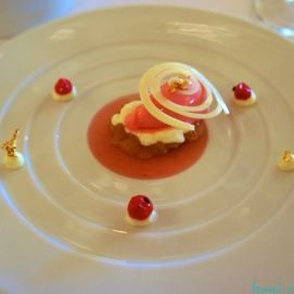 Pretty desserts at Pierre Gagnaire