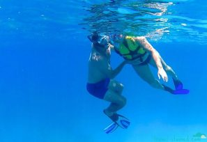 5 months pregnant and floating weightlessly
