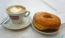 The humble doughnut elevated in Rome