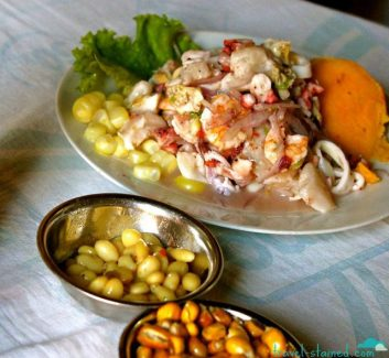 Ceviche in Lima
