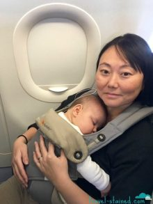 Out for the count on the flight to Osaka
