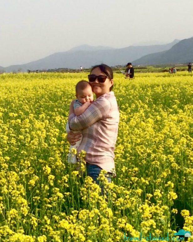 In a field of dreams... :)