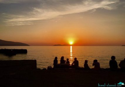 Sunset in Vlore