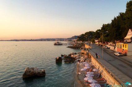 Vlore's seaside