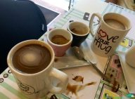 Ok, so we had to add a shot of espresso, cuz it was too weak