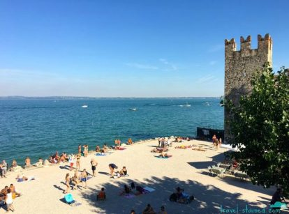 On the shores of Lago di Garda