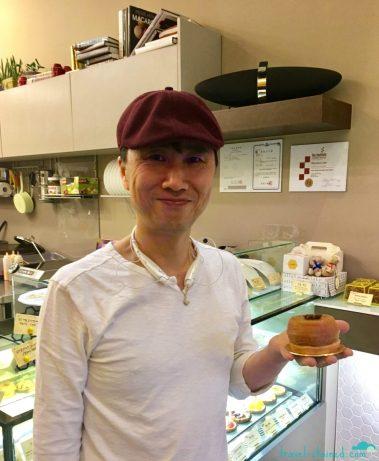 Lee Wonwoo and le tarte tatin