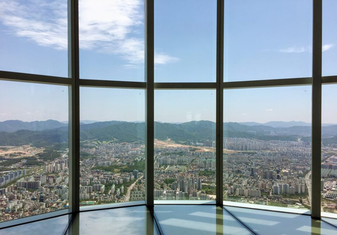 views from the seoul sky observatory