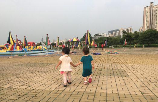 korea jamsil swimming pool