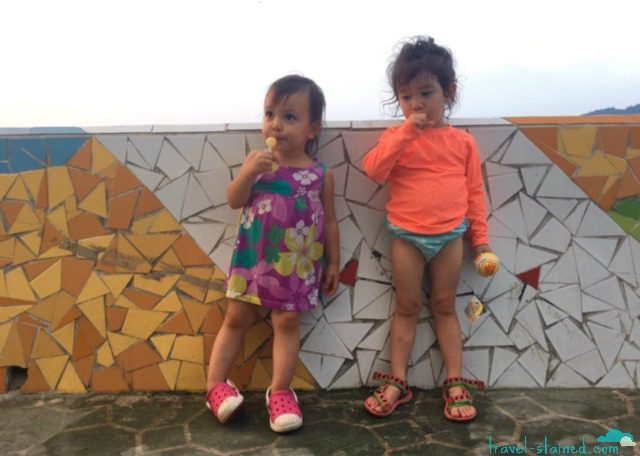 Lollipops after the beach