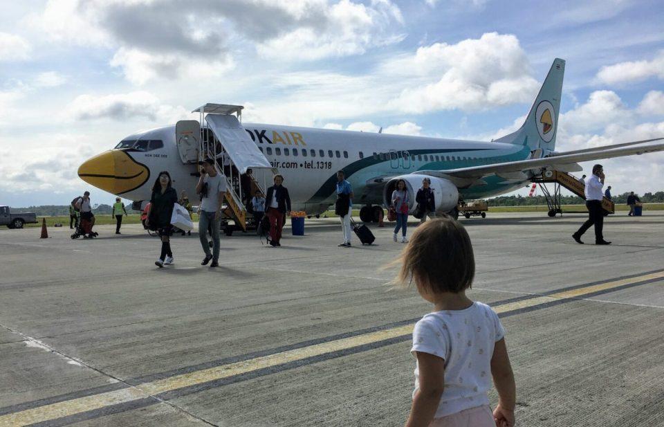 nok air flight to hat yai