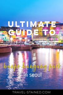 Banpo Hangang Park Pinterest