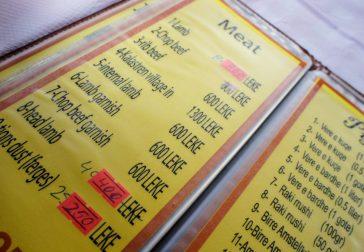 Kasemi menu