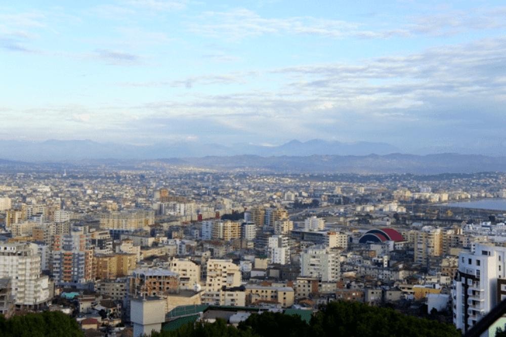 the cityscape of durres albania