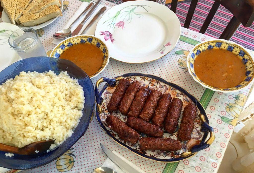 qofte, albanian foods