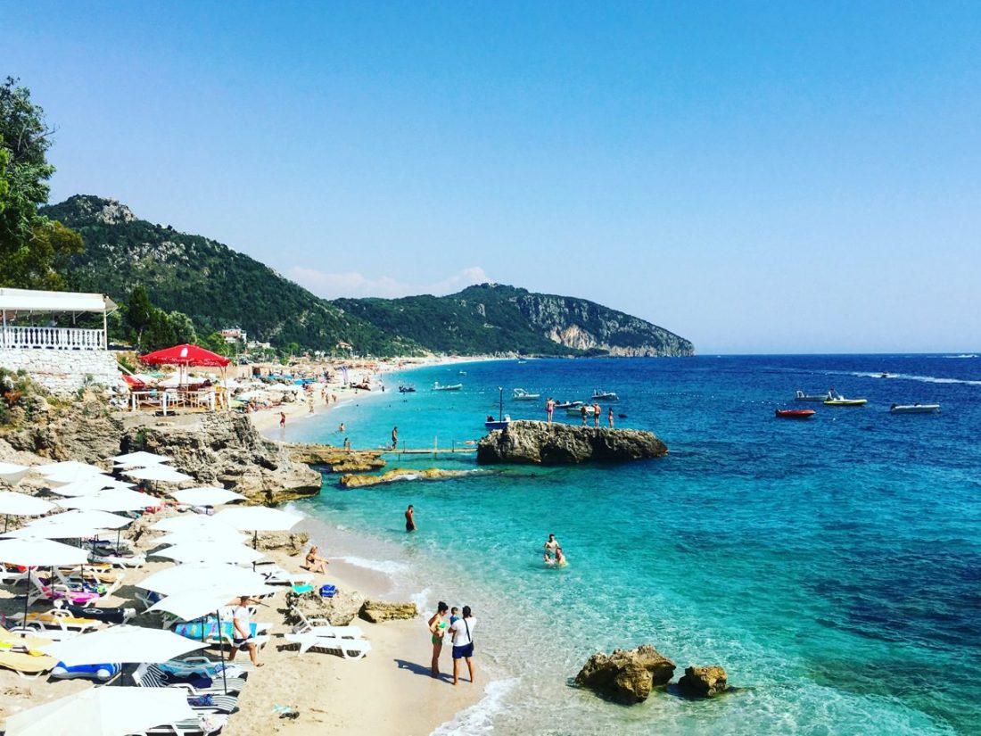 beaches of dhermi