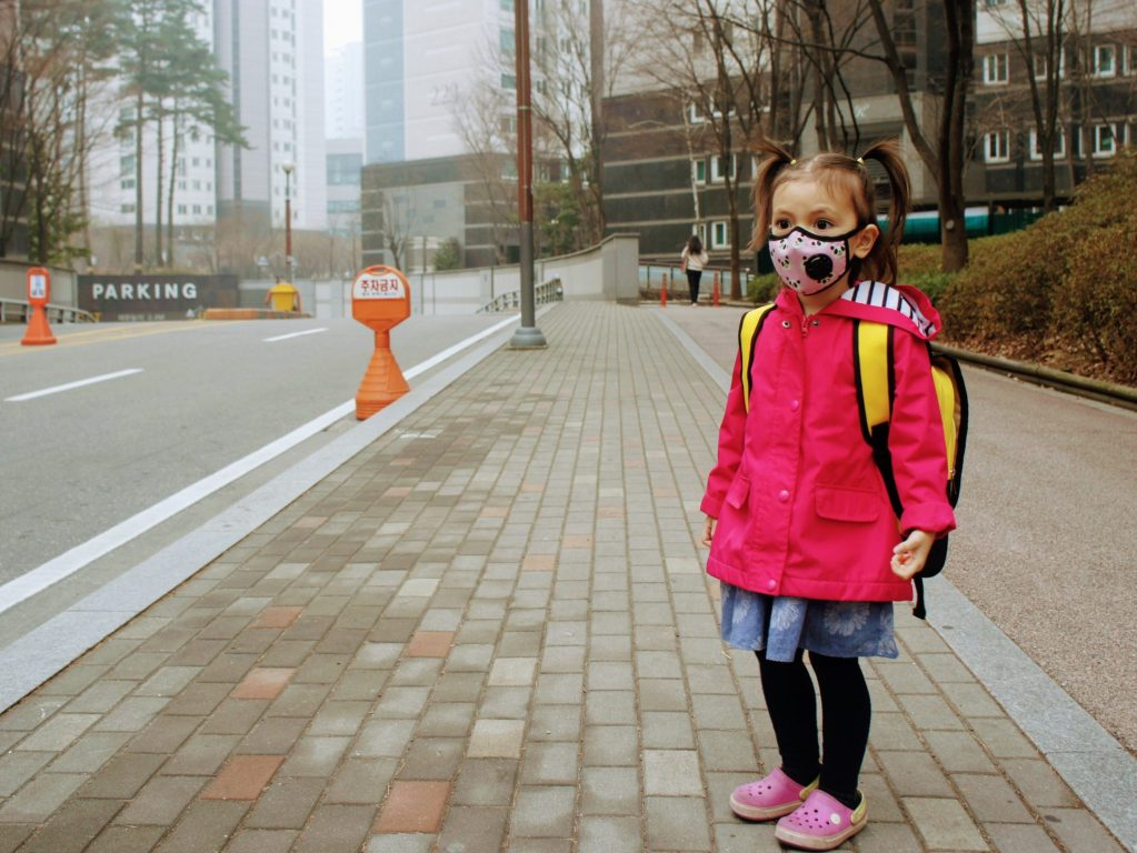korea air quality in april