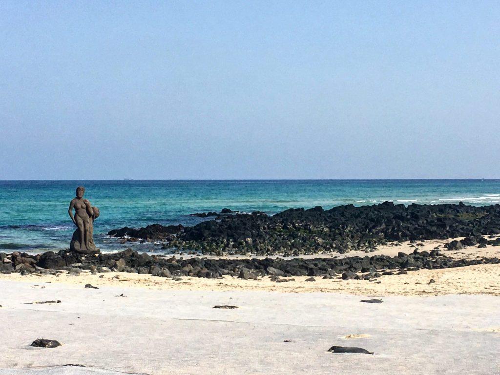 beaches in korea | gwakji beach in jeju
