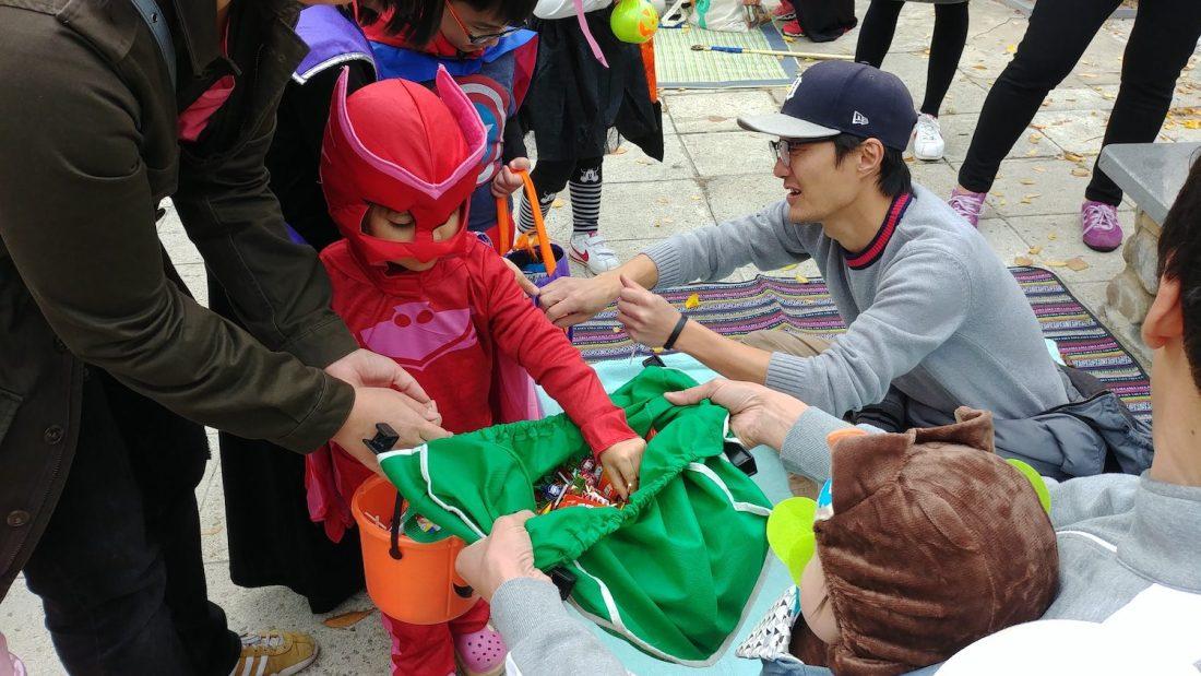 halloween in korea