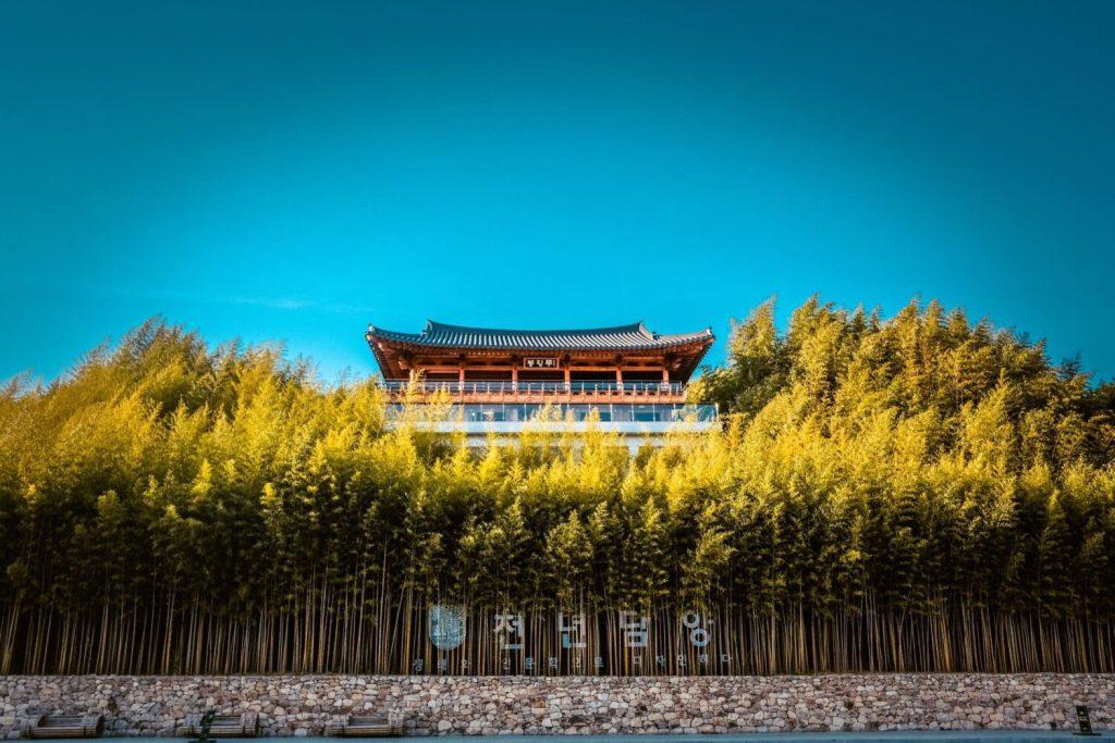 damyang bamboo forest - juknokwon