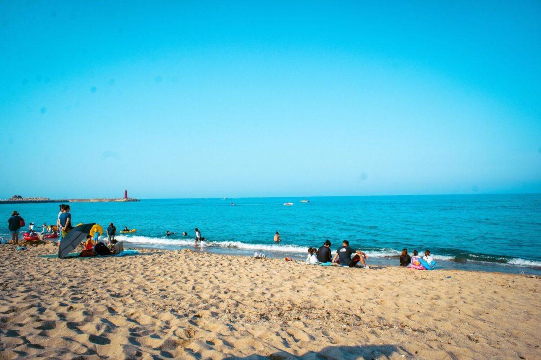 beaches in korea | naksan beach