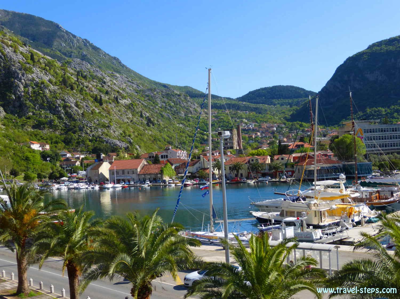 Backpacking Montenegro Kotor Habor