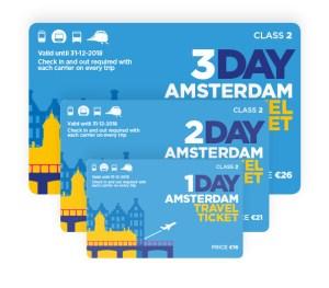Как сэкономить в Амстердаме? - Amsterdam Travel Tickets / Проездные на транспорт в Амстердаме
