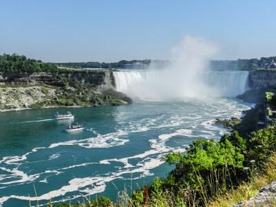"Ниагарский водопад - Канадский водопад ""Подкова"" (Horseshoe Falls)"