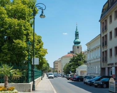 дорога из Вены в Баден