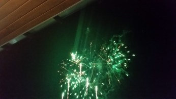 9.30 fireworks, later show was even better
