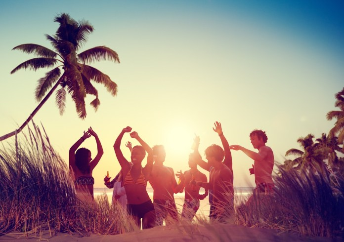 The island is awash with fantastic celebratory parties. Image: PixaBay.com