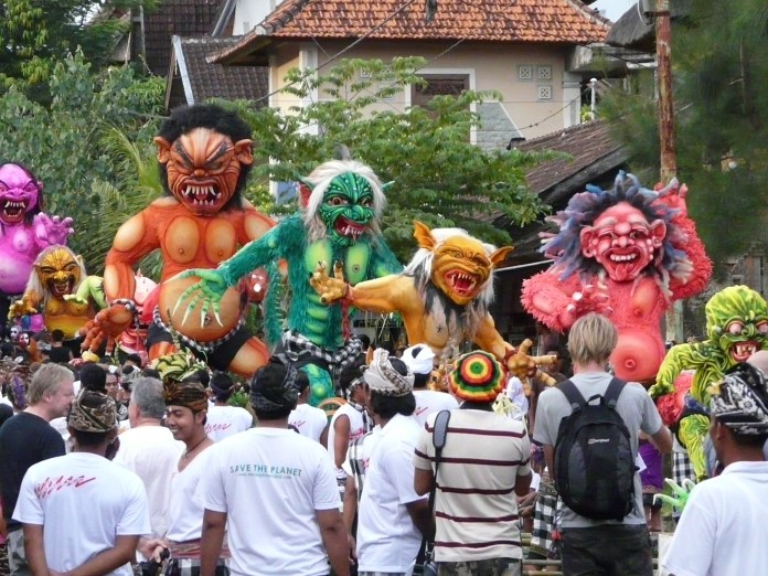 Nyepi, the first day of the Saka New Year, is not only a celebration of traditions and spirituality, but a period of togetherness and rebirth. Image: Matthew Spong, www.flickr.com