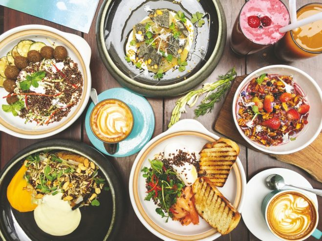 healthy food spots in Bali