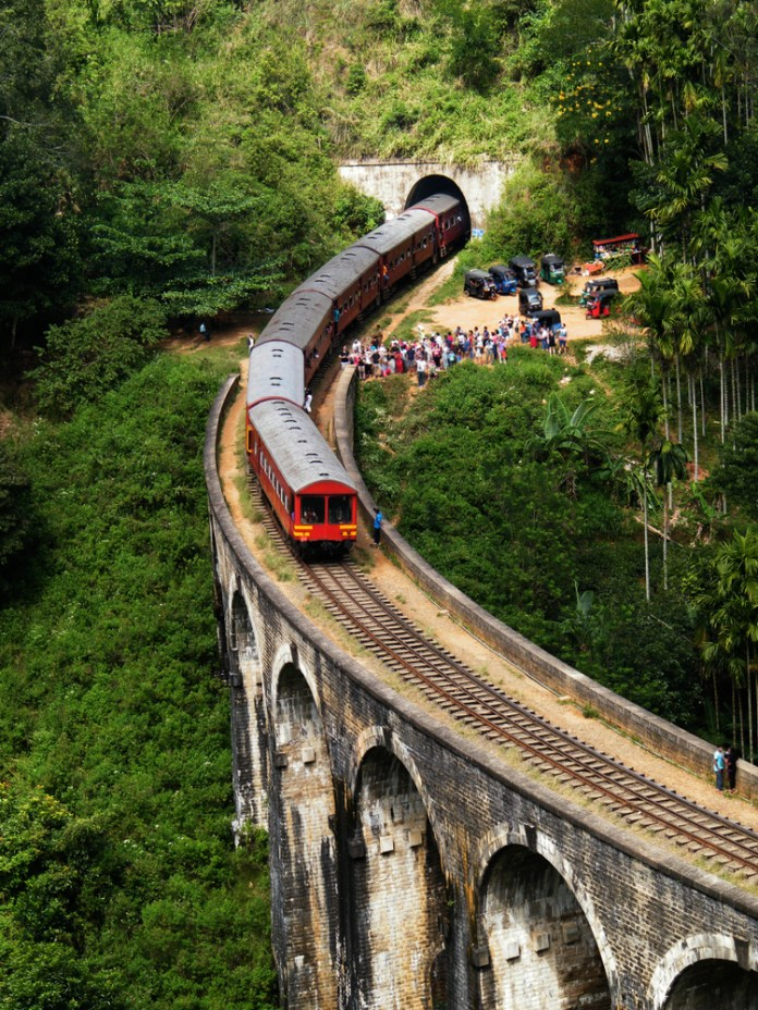 Train rides are one of most famous Sri Lanka activities