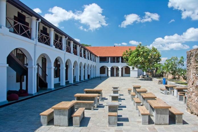 Old Dutch Hospita in Galle