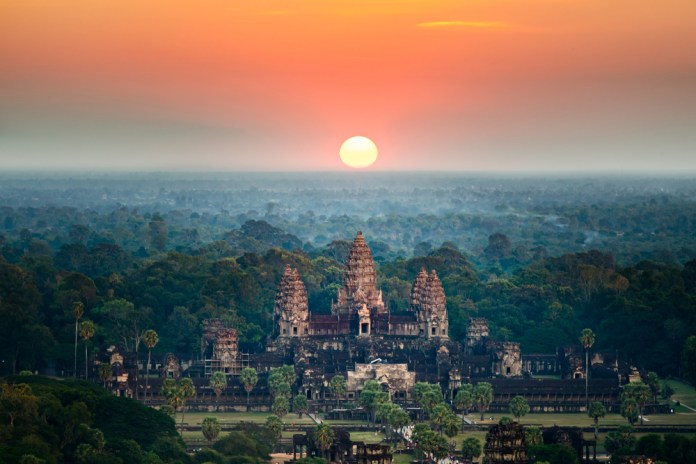 Angkor Wat is perhaps Cambodia's most loved site