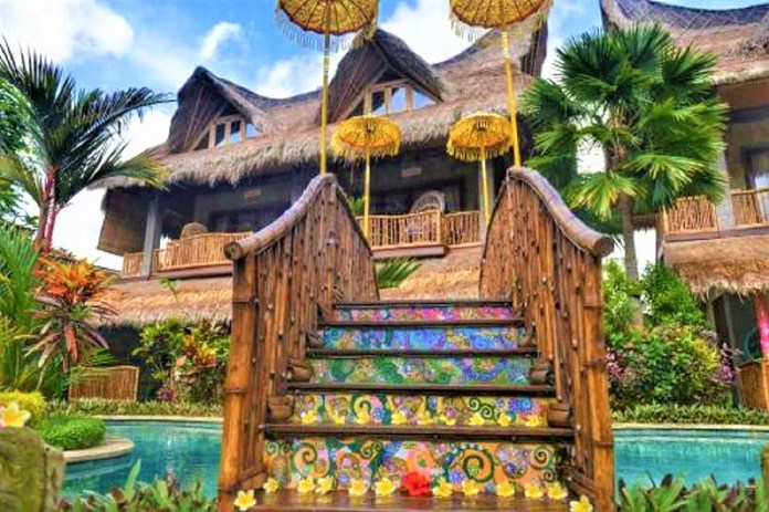 One of the most colorful artistic places in Bali