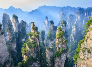 most surreal places in asia