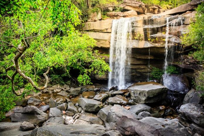 waterfall chasing in Koh Samui