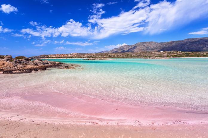 world's best pink beaches - Greece