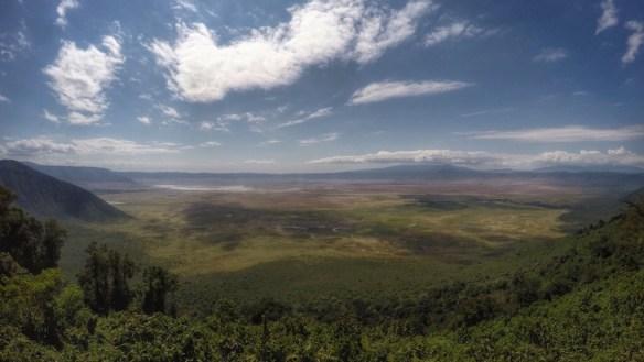 Ngorongoro Crater view