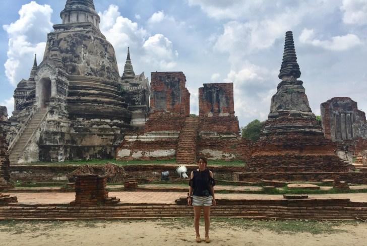 バンコク一人旅女性