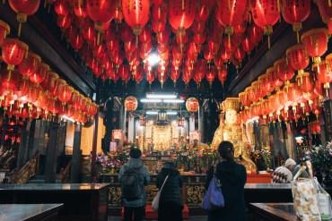 Shilin Mazu temple